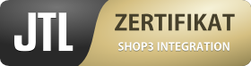 Zertifikat JTL SHOP Integration