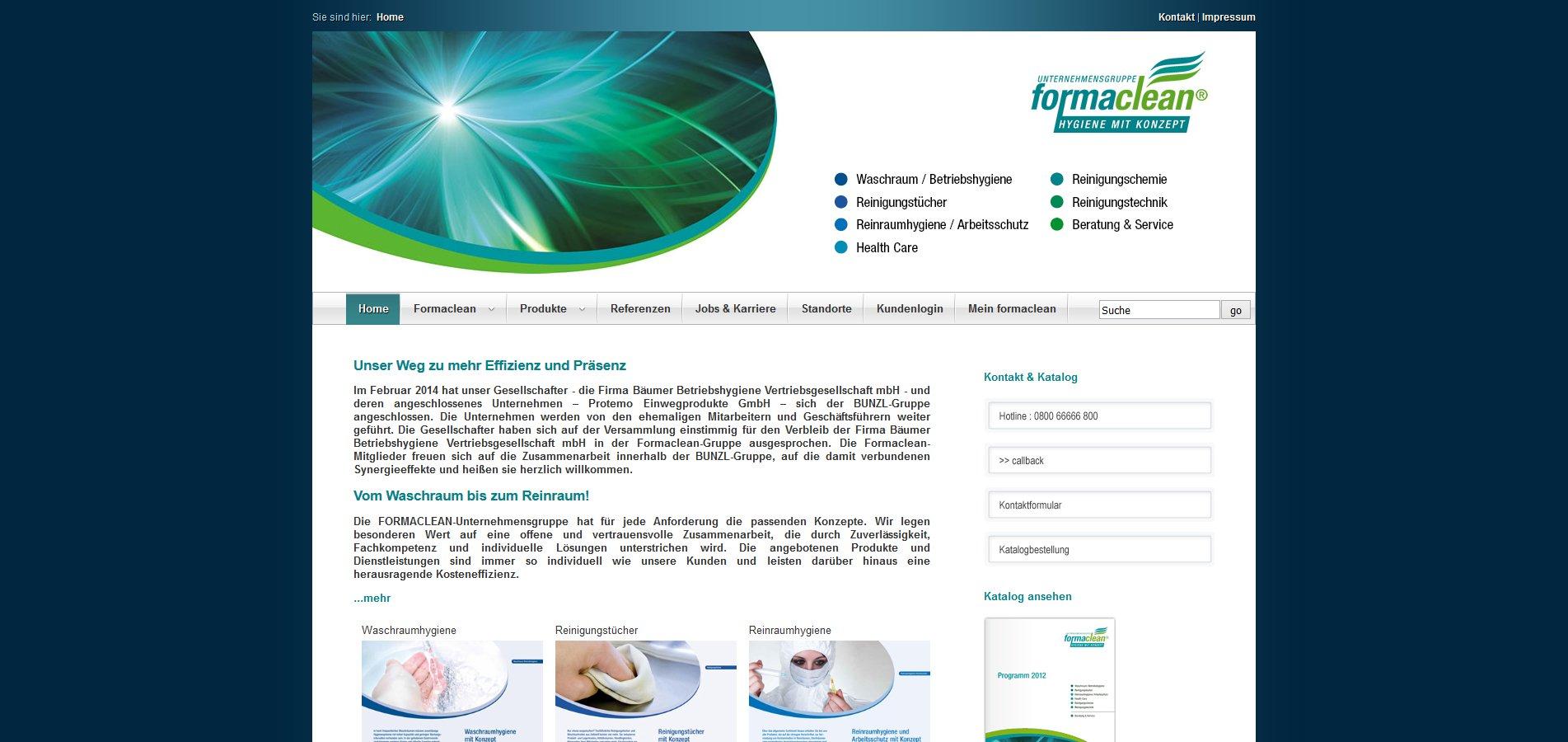 Webdesign / CMS Referenz von liquid pixels - IT Services - Bottrop