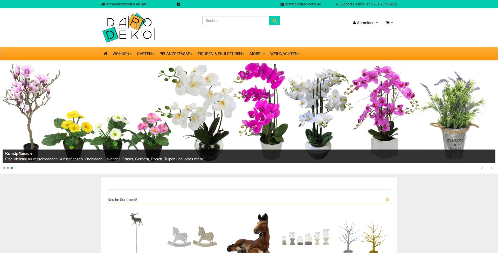 Webshop Referenz von liquid pixels - IT Services - Bottrop