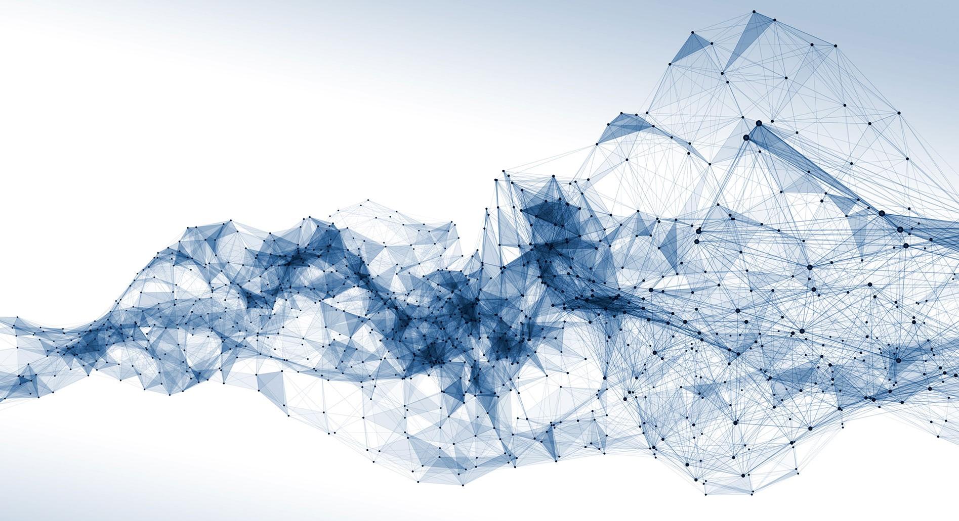 3D Rendering eines Netzwerkes